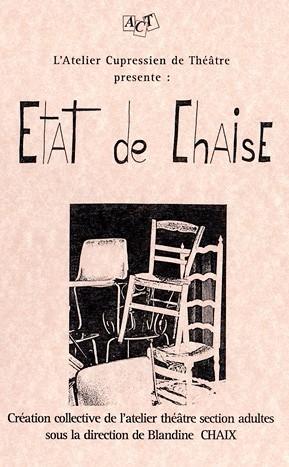 Etat de Chaise