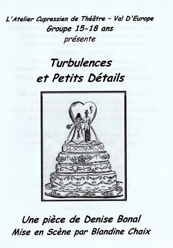 Turbulences et Petits Détails