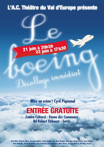 Le Boeing, décollage immediat